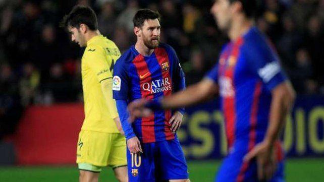 Messi se calentó y agredió verbalmente al rival