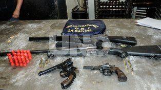 Durante 2016 se secuestraron más de 1.000 armas de fuego en el departamento La Capital