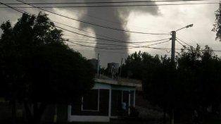 Un tornado azotó a San Luis