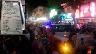 La pizzería del ticket viral sufrió la estampida de Carlos Paz