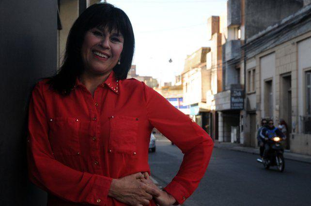 Viviana Barrios. La destacada folklorista será de la partida con buenas canciones.