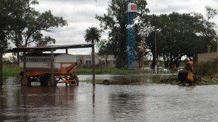 Debido a las intensas lluvias la localidad de Pueblo Marini puede desaparecer