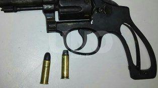 Cayó violento tiratiros con un arma y balas de guerra