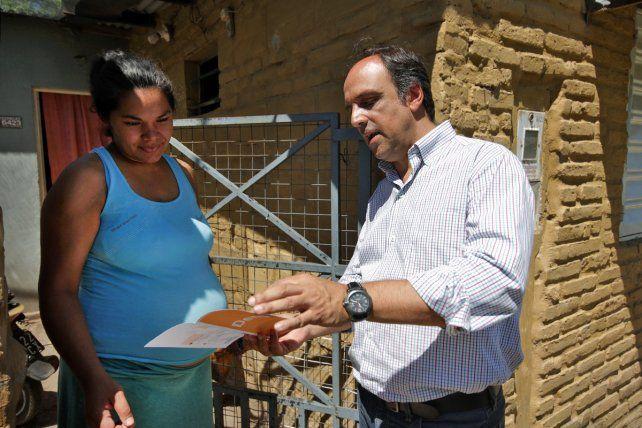 El Municipio recorre barrios del Norte de la Ciudad para concientizar sobre Dengue, Zika y Chicunguña