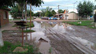 Desde el 1º de enero las calles de Peñaloza Norte permanecen a oscuras