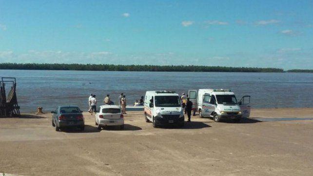 Continua la búsqueda de los tres hombres desaparecidos en el río Paraná