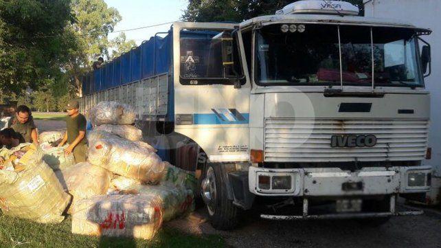 Gendarmería secuestró mercadería de contrabando por casi 5 millones de pesos