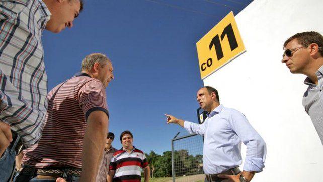 Inauguraron la Estación de Bombeo de Dorrego y Larrea