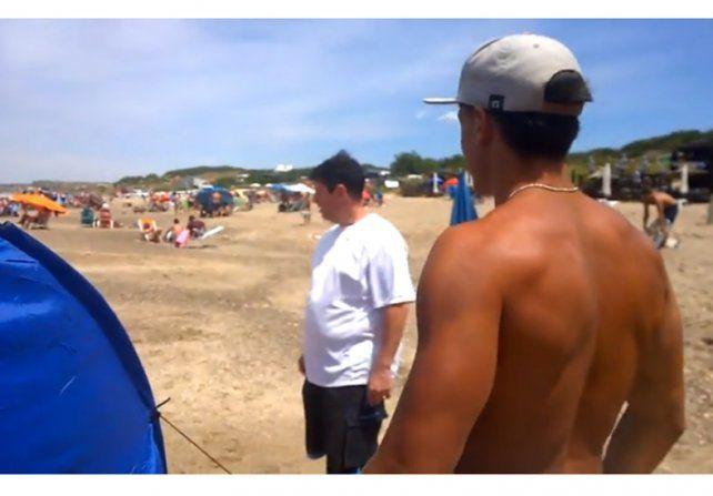Mar del Plata: quisieron echar a una familia de una playa pública