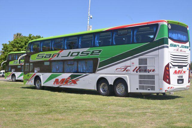 La empresa San José incorporó dos nuevas unidades