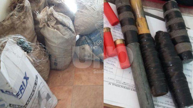 Santa Rosa de Calchines: cayó una banda de delincuentes en diez allanamientos