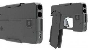 Europa en alerta ante la llegada del iPhone gun, la pistola con forma de smartphone