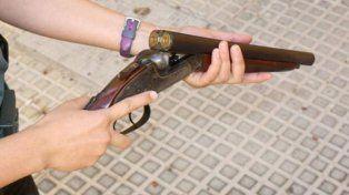 Detuvieron a un chico de 16 años con una escopeta