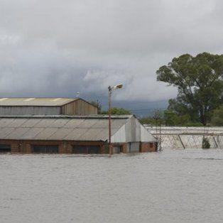 El Arroyo Pavón desbordó a la altura de Arroyo Seco