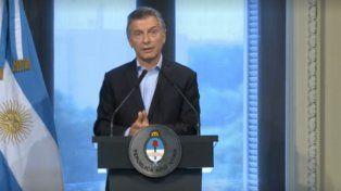 macri anuncio que declarara la emergencia en santa fe por las inundaciones