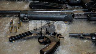 En manos de delincuentes. Hubo gran cantidad de revólveres calibres 22, 32 y 38.