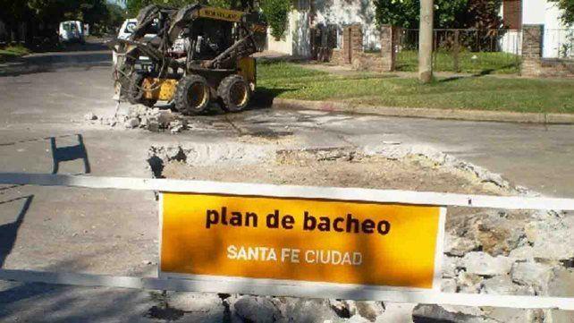 Plan de bacheos previstos para hoy