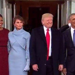 en vivo: trump asume como presidente de los estados unidos