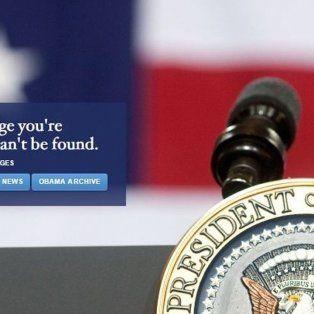 la casa blanca ya no tiene web en espanol