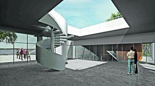 Acceso. El domo que se instalará tendrá nueve metros de diámetro con capacidad para 50 personas.