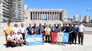 santa fe envia brigadistas a chile para combatir los incendios forestales