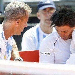 complicado: berlocq cayo ante seppi y argentina quedo match point