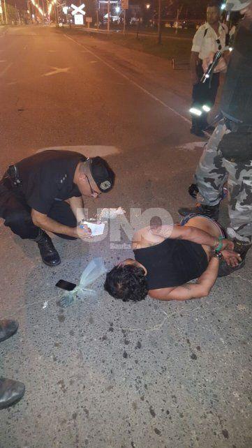San Lorenzo: cayó una pareja que hacía delivery de cocaína y marihuana