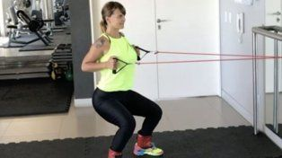la exigente rutina de gym tras ser mama por segunda vez