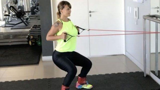 La exigente rutina de gym tras ser mamá por segunda vez