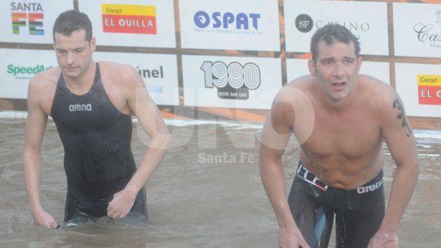 El macedonio Evgenij Pop Acev y el italiano Edoardo Stochino
