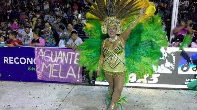 La presidenta del Concejo de Reconquista bailó en la última noche de carnaval