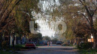 Populoso. El barrio Altos del Valle es uno de los más antiguos y poblados de la zona norte.