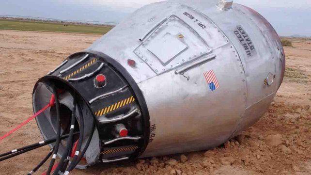 Qué se esconde detrás de la misteriosa cápsula espacial que cayó del cielo en un campo