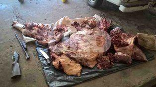 Detuvieron a tres hombres por robo de ganado y faenamiento clandestino