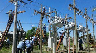 Los trabajos en la Estación Transformadora Esperanza se encuentran en la etapa final