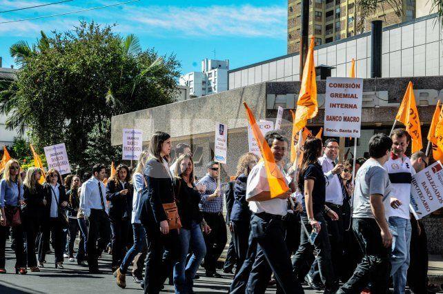 Movilización. En el comunicado se anticipan protestas en la calle.