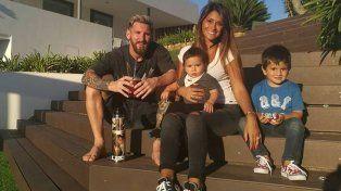 Messi compró la casa de un vecino porque hacía mucho ruido