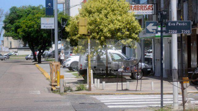 Bajo amenazas. La víctima debía prostituirse en la esquina de Belgrano y Eva Perón.