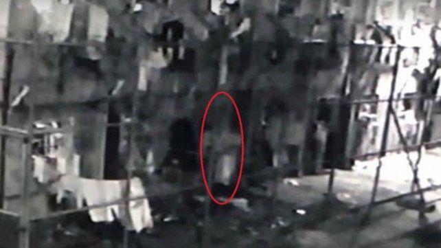El escalofriante video del fantasma en una cárcel