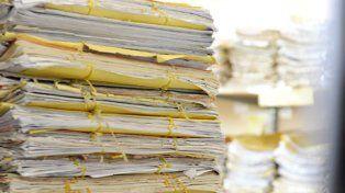 Acumuladas. En el viejo sistema aún hay 22.000 causas sin resolución judicial.