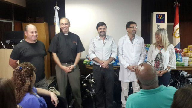 Entregaron las donaciones recibidas en el 29º Festival de Guadalupe