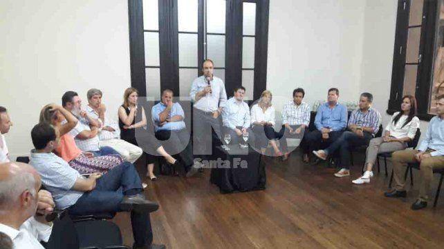 José Corral encabeza la reunión de la Mesa Provincial de Cambiemos