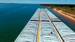 AFIP secuestró casi 6.500 toneladas de soja en el río Paraná