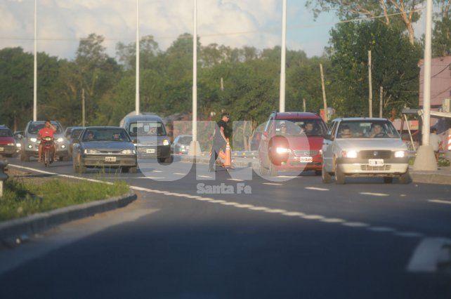 Embotellamiento. El tráfico es uno de los aspectos que más preocupa.