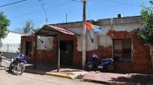 La comisaría de la ciudad de Frontera.