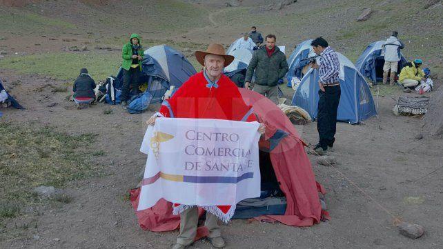 Bicentenario: un santafesino participó del Cruce de los Andes