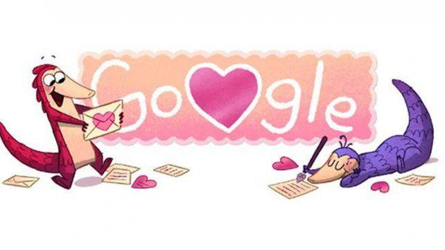 Día de San Valentín 2017 y la historia de amor de Google