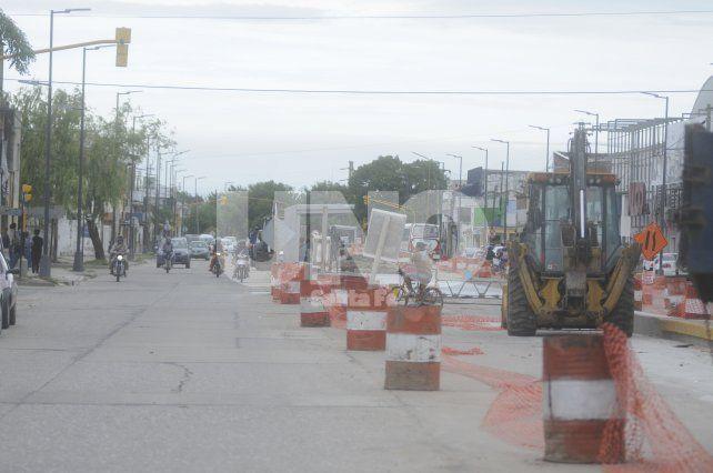 Cuenta regresiva. Tareas en distintos puntos de la avenida para finalizar una intervención que será notable y clave para el norte de la ciudad.