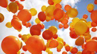 Realizarán una suelta de globos para concientizar sobre el Cáncer infantil