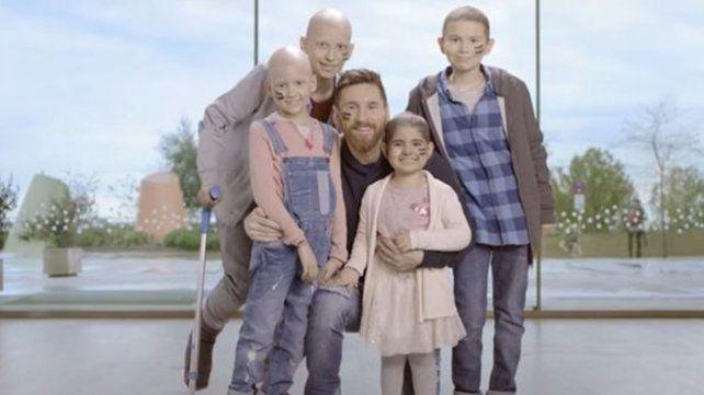 Un hospital para el cáncer infantil en Barcelona llevará el sello de Leo Messi